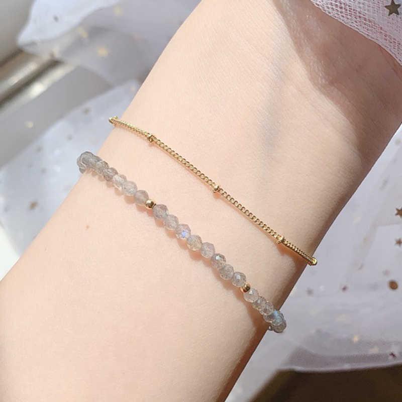 Labradorite bohemian bracelet womens jewelry gift for her gemstone bracelet boho bracelet boho chic bracelet