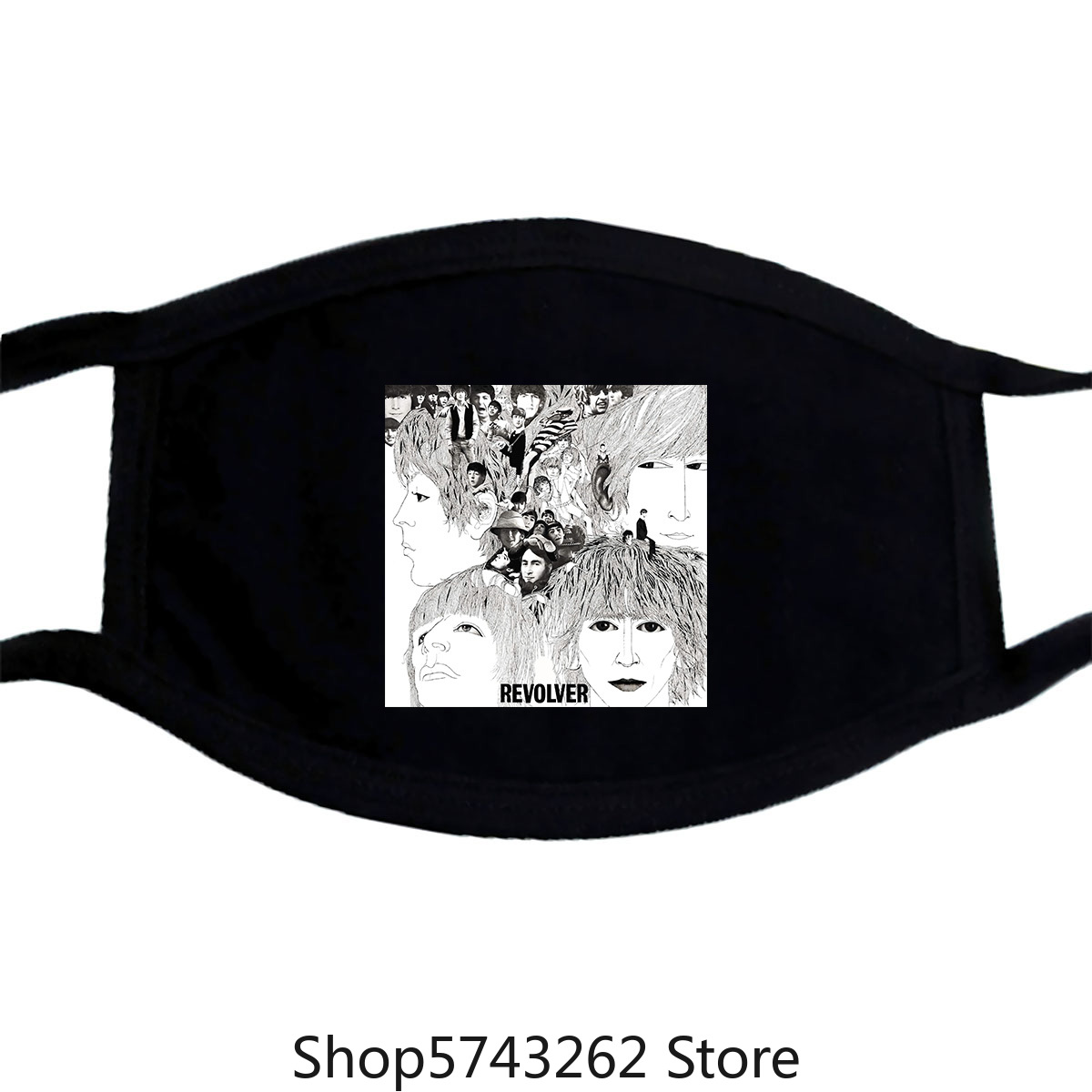 The Tee Fashion Beatle_S Cool Album Cover Mask-New Washable Reusable Mask