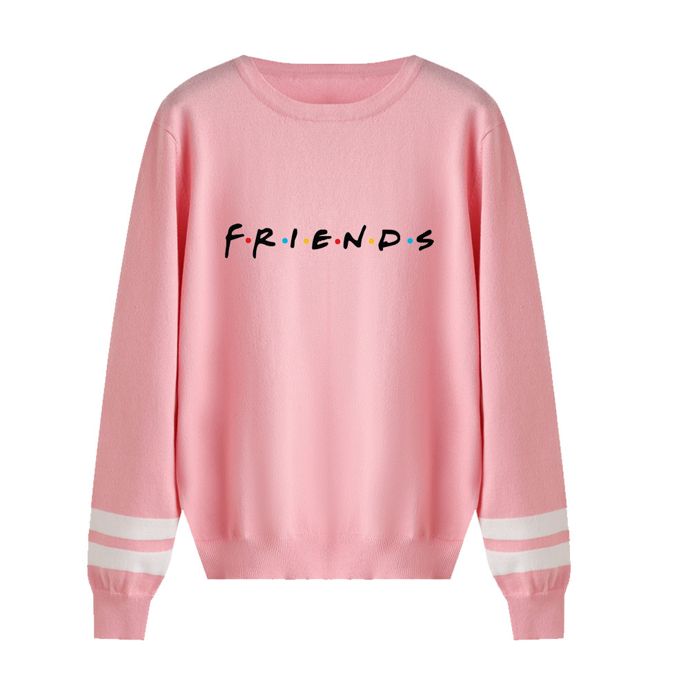 Friends Sweater Men/women Casual Knitting Sweater New Listing Fall/Winter Pullovers Female Unisex Sweater Classic Sitcom Sweater