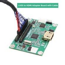 LVDS плата драйвера/LVDS в HDMI адаптер конвертер поддерживает разрешение 1080P