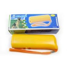 3 в 1 Анти лай Стоп кора устройство для обучения собак собака тренировочный регулятор для репеллента светодиодный ультразвуковой Анти лай