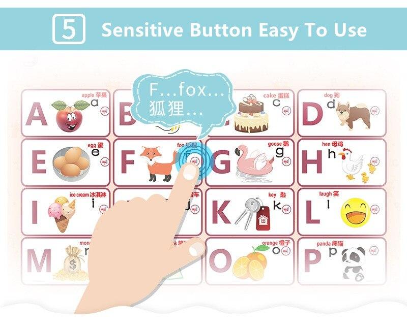 piano pinyin alfabeto brinquedos educativos para