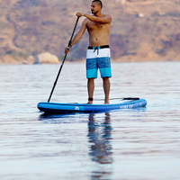 381*81*15cm AQUA MARINA HYPER inflatable sup stand up paddle board inflatable surf board surfboard fast racing speed water sport