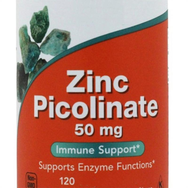 Zinc Picolinate,support Immune System Health,50mg X120 Pcs