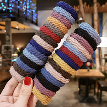 20PCS Women Simple Basic Elastic Hair Bands Ties Scrunchie Ponytail Holder Rubber Bands Girls' Fashion Headband Hair Accessories