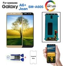 Для samsung Galaxy A6+ A605 SM-A605F дисплей ЖК-экран Замена для samsung A605FN A605G A605GN ЖК-дисплей модуль