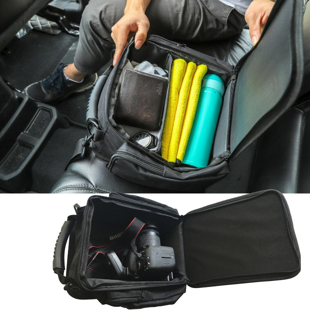 Organizer for 2011-2019 2020 2021 Jeep Wrangler JL JLU JK Sports Rubicon Gladiator JT Backseat Rear Under Seat Storage Bags Box