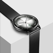 Luxury Ultra Thin Men Quartz Watch 2019 Mens Watches Top Brand Fashion Black Watch Man Waterproof Date Wristwatches Reloj Hombre hot new men watches luxury quartz watch women ultra thin fashion casual business watch lover frosted case wristwatches quartz cd