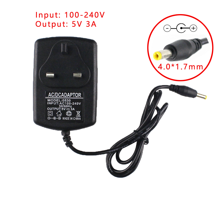 5V 3A 4.0*1.7mm New AC Adapter For Sony SRS-XB30 SRS-XB41 Portable Speaker Dock Charger