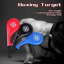 Boxing Pads Taekwondo Karate Equipment Kids Adult Punch Double Pad Fitness Pads PU Target Sponge Kick Rebound MMA Boxing Tr K7U8
