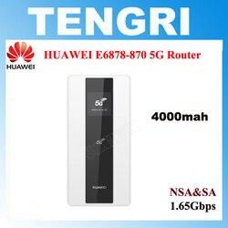 HUAWEI 1.65Gbps E6878 E6878-870 5G Hotspot Mobile routeur WiFi intégré Balong