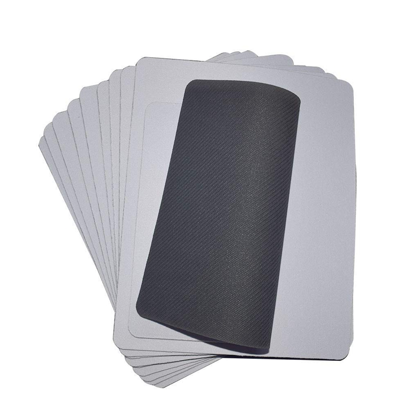 20Pcs Blank Mouse Pad For Sublimation INK Transfer Heat Press Printing Crafts