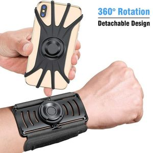 Image 2 - Running Sports Phone Case Wrist Arm Band For IPhone 11 Pro Max X XR 6 7 8 Plus Samsung Note 10 S9 P30 GYM Wristband For LG Pixel