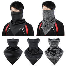 Высокоэластичный шарф для лица, треугольная повязка на голову для мужчин/женщин, Пешие прогулки