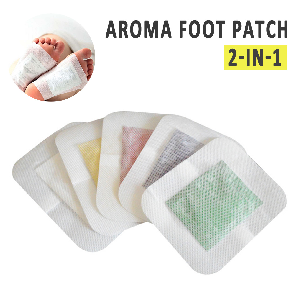 2pcs/1pair Ginger Feet Detox Foot Patch Of Sticky Remove Toxin Foot Help Sleep Slimming Patches Skin Care Pad TSLM2