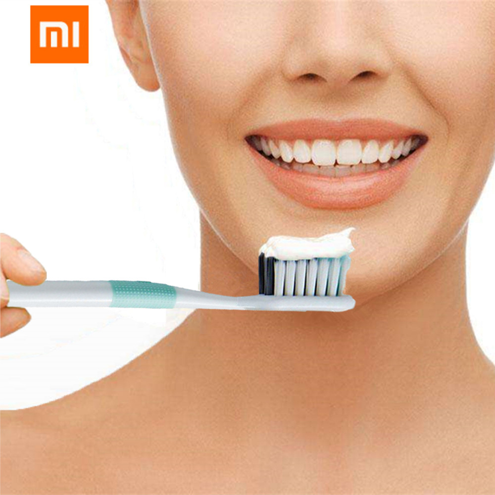 Original Xiaomi Doctor B toothbrush Mi household 4 color toothbrush deep cleaning with soft hair one pack