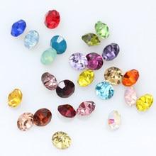 Atacado ss2-ss45 mixcolors pointback sparkly pedra cristal strass diamante arte do prego gem sapatos acessórios de vestuário