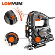 LOMVUM 800W Laser Jigsaw Electric 5 Variale Speed Jia Saw for Woodworking Electrical Saw 110V/220V Cutting Metal Wood Aluminum