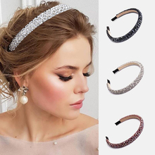 Hair-Hoop-Accessories Headbands-Ornaments Hair-Band Rhinestone Crystal Luxury Girls Fashion