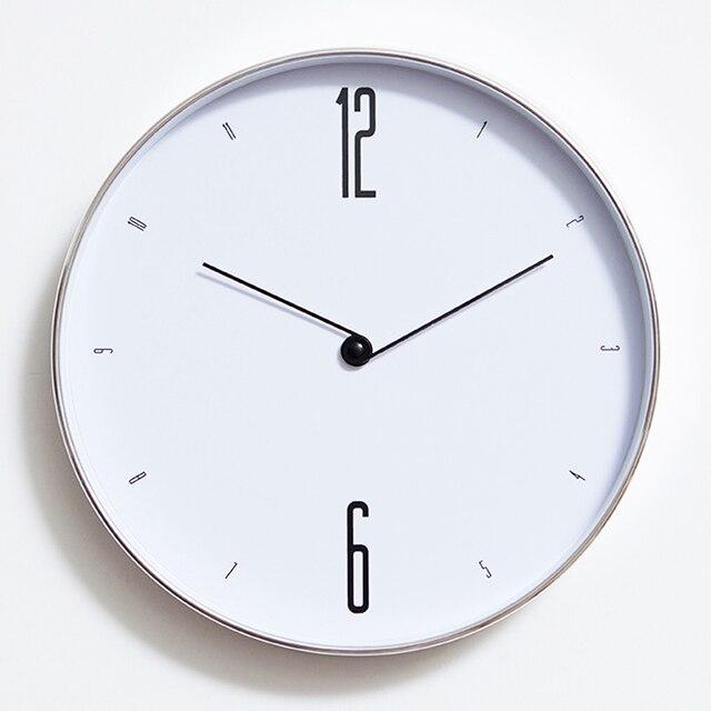 Descuentos Reloj de pared grande blanco diseño moderno ...