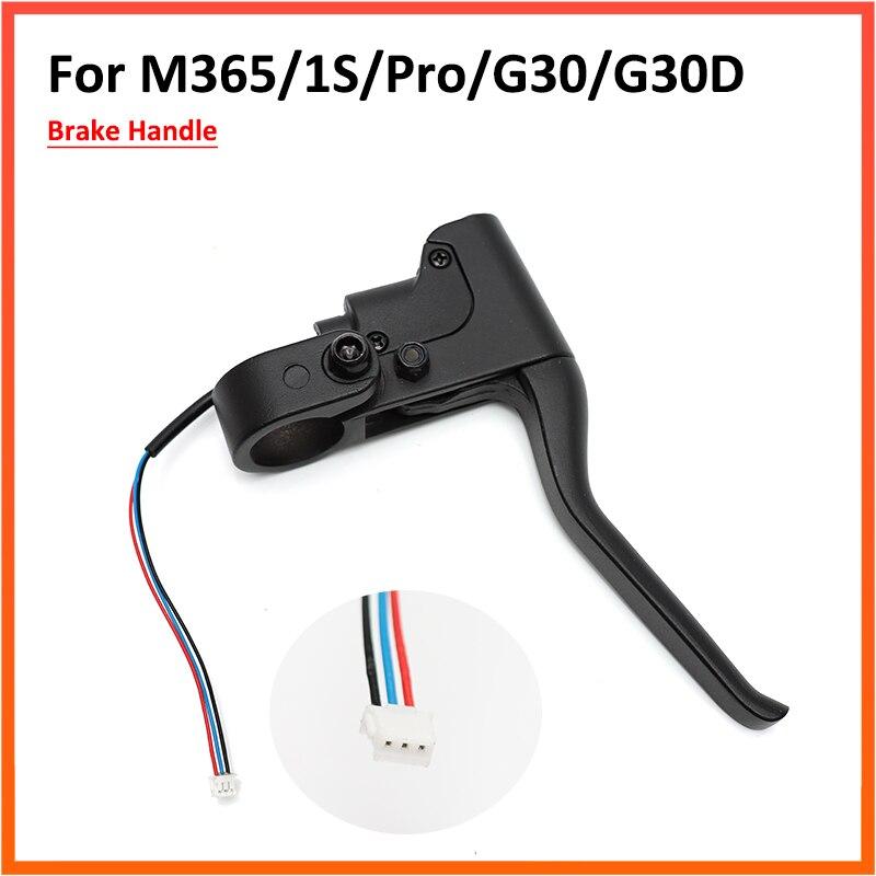 Lidar com alavanca do freio para xiaomi mijia m365 1s pro 2 e max g30 scooter elétrico peças liga de alumínio lidar com montagem peças