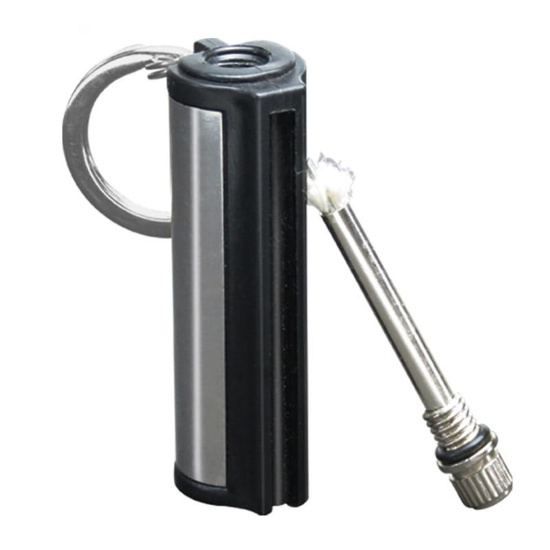 Outdoor Survival Tool Flint Fire Starter Permanent Match Striker Keychain Portable Thousands of times Key Chain Lighter Kit