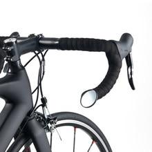 Ciclismo espelhos de bicicleta mtb estrada da bicicleta guiador barend espelho retrovisor ultraleve seguro acessórios da bicicleta