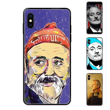 Free Shipping Famous Actor Bill Murray For Huawei P40 P30 P20 P10 P9 P8 Lite Plus Pro 2017 P Smart 2019 Black Soft Fashion image