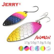 Jerry armor металлическая ложка Искусственные воблеры для троллинга