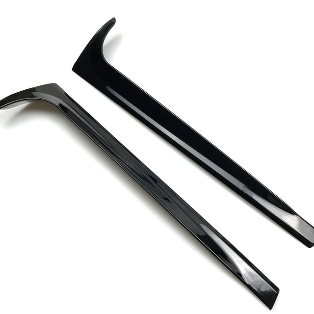 Gloss Black Rear Window Side Spoiler Wing For VW for Polo MK5 2011-2017/ MK5 2018+ Glossy Canard Canards Splitter Car-styling