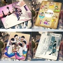 Коврик для мыши с принтом из мультфильма Осомацу-san, 1 шт., домашний декор для женщин и мужчин, рождественский подарок, 26*21*0,5 см