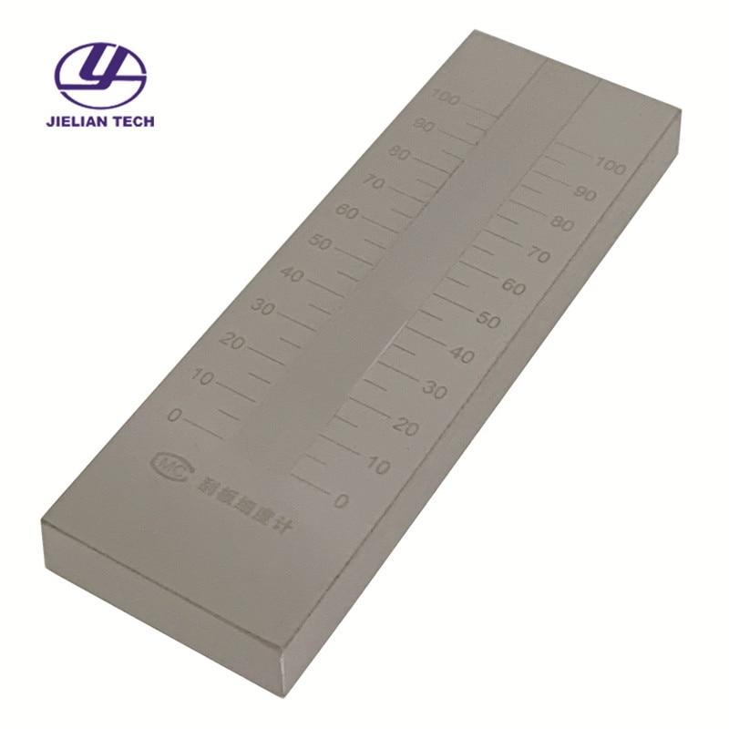 QXD Single Groove Scraper Fineness Meter QXD 0-25 0-50 0-100 0-150