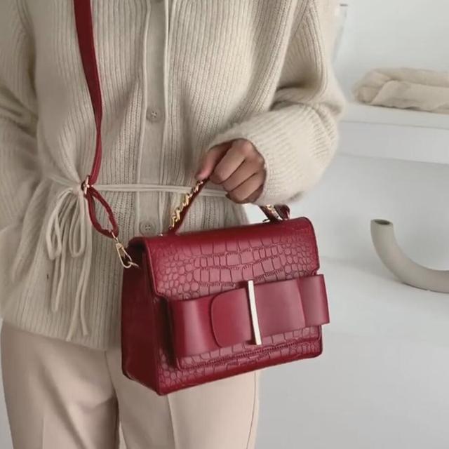 Vintage Fashion Female Tote bag 2019 New High Quality Leather Women's Designer Handbag Crocodile pattern Shoulder Messenger Bag