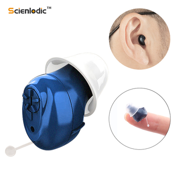 Invisible Hearing Aid Ear Hearing Device CIC Hearing Aid Mini Sound Amplifier Hearing Aids Hearing Amplifier for The Elderly 1