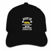 Print Custom Baseball Cap Hip Hop Men Bus Driver Looks Like Women Hat Peaked cap(China)