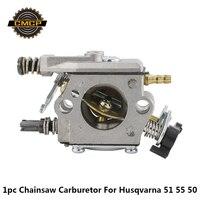 CMCP carburateur de scie à chaîne, ajustement pour Husqvarna, 51 55 50