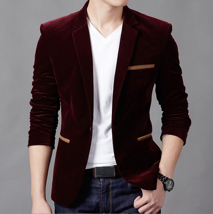 Fall And Winter Clothes Suit Men Korean-style Slim Models Woolen Single-Button Youth Fashion-Suit Coat