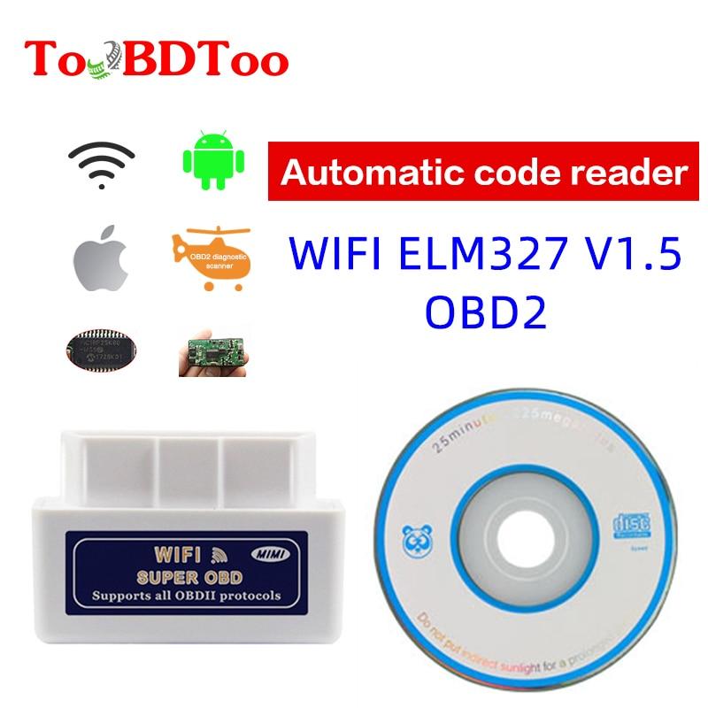 ELM327 wifi Android Apple автомобильный считыватель PIC18F25K80 с чипом стабильность одноплатная лента для печатных плат многоязычный автомобильный считы...