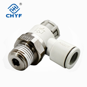 Gas Joint Speed Governing Throttle Valve AS1201F/2201f/3201F-M5/01/02-04A/06a/08/10SA AS image