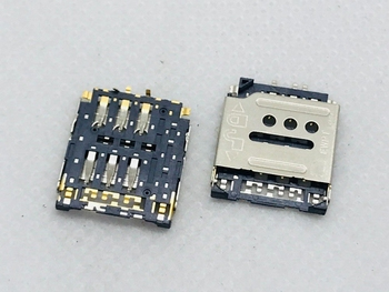 G6 P6 P7 2IN1 Flip Micro SIM SD TF Card Slot Tray Holder Adapter Connector Patch Domestic Smartphone TE LCN Motherboard Flex Cab image