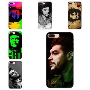 TPU Phone Cases Covers Ernesto Guevara El Che For Samsung Galaxy Note 4 8 9 G313 S3 S4 S5 S6 S7 S8 S9 S10 Edge Plus Lite I9082(China)