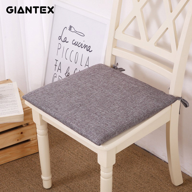 GIANTEX Japanese Linen Cushion Home Decor Sofa Pad Seat Cushion Decorative Pillows On Chair Pillow Cushion Cojines Coussin U1535