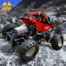 Monsters Bigfoot Truck Technic SUV RC Auto Model Bouwsteen Sport 2.4G Radio Control Speelgoed Voor Kinderen Compatibel Met legoED(China)
