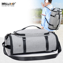 Men Travel Bag Multifunction Duffle Bags Luggage Laptop Backpack USB Charge Weekend Crossbody Bag Anti theft Rucksack XA103ZC