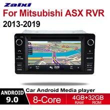 Автомобильный dvd плеер на основе android для mitsubishi asx