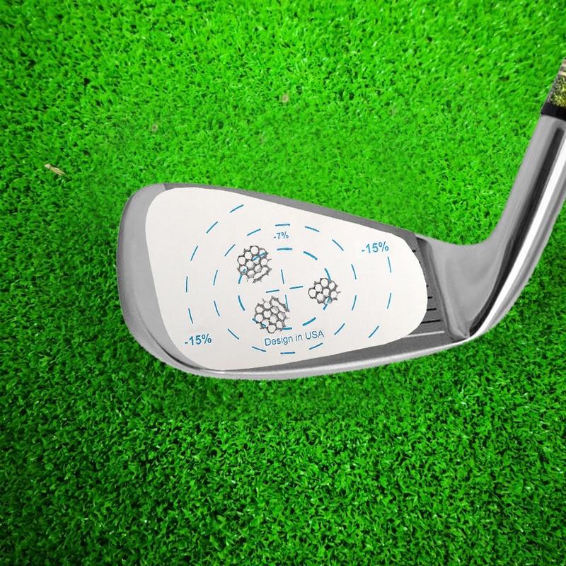 200 pcs pita impak golf gulungan besi label tangan kanan bola latihan - Golf - Foto 6