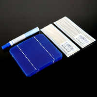 Моно панели солнечных батарей зарядное устройство комплект DIY 125x125 156x156 400 Вт 300 250 200 100 Вт монокристаллическая солнечная батарея для тайблинг...