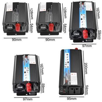 Solar Car Inverter DC12V to AC220V 3000/3500/4000/5000/6000W Max Modified Sine Wave Power Inverter Voltage Transformer Converter 2