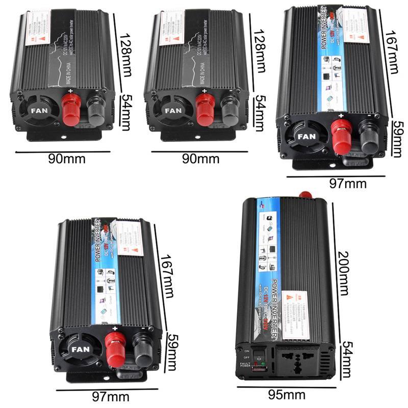 Solar Inverter to Convert DC-12V to AC-220V Suitable for Household Appliances 1