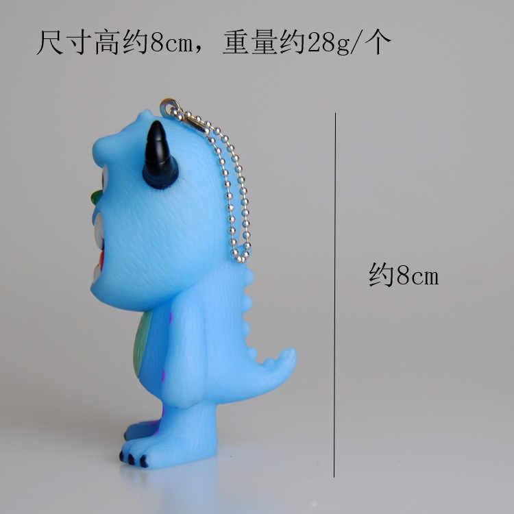 Chxinhns Stitch Kartun Tas Gantungan Kunci Hadiah Anak-anak Lucu 3D Silikon Gantungan Kunci Wanita Gantungan Kunci Tas Liontin